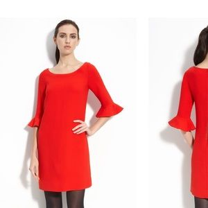 Kate Spade New York Luna Dress (Red- Size 0)